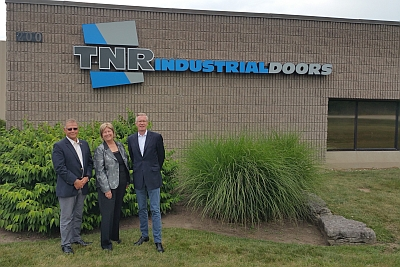 Hörmann übernimmt TNR Industrial Doors Inc.