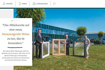Ideal launcht neue Website