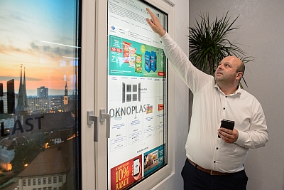 Oknoplast stellt Smart Window vor